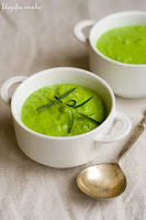 (zupa z zielonego groszku
