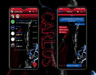 Thor Theme For YOWhatsApp & Fouad WhatsApp By  Carlos