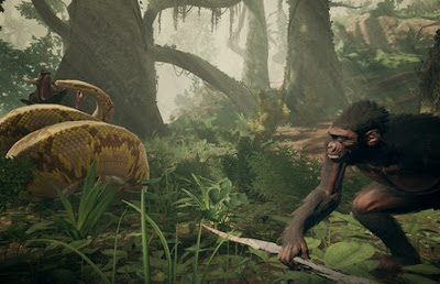 Free Download PC Game Ancestors The Humankind Odyssey Full Version is a game with a third-person survival point of view where the player will control one of the members of the primate clan