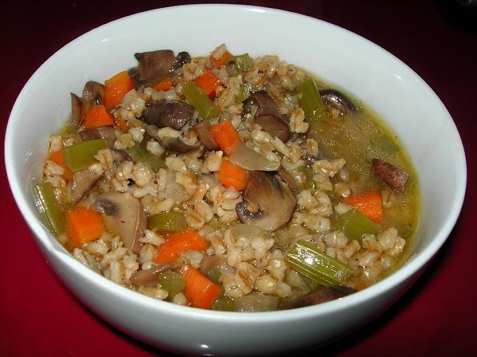 Perfect Mushroom Barley Soup