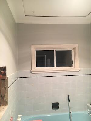 Repainted Bathroom Walls