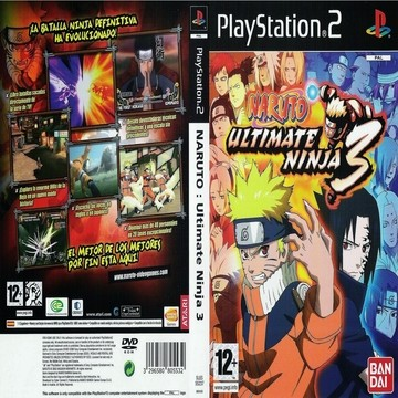 Download Naruto: Ultimate Ninja 3 PS2 zona-games.com