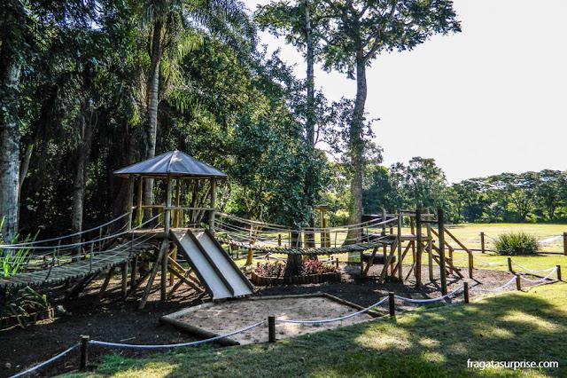 Parque infantil do Hotel San Martin Resort & Spa, em Foz do Iguaçu