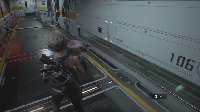 Screenshot Gameplay Resident Evil 3 Remake