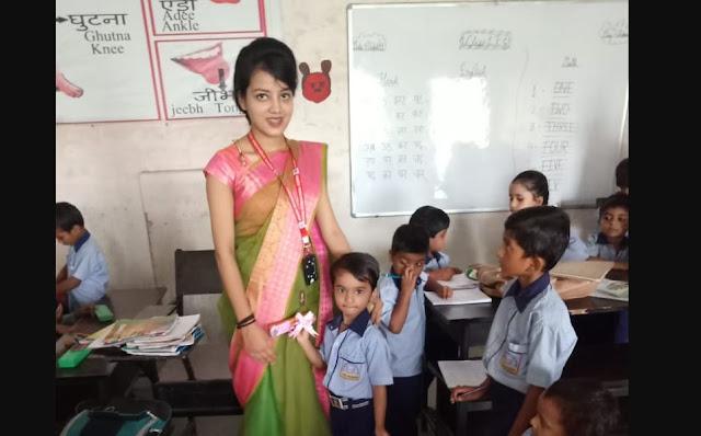 टीचर्स डे पर स्टूडेंट्स ने मैम को दिए ब्यूटीफुल गिफ्ट - newsonfloor.com