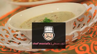 Mushroom soup with dill
