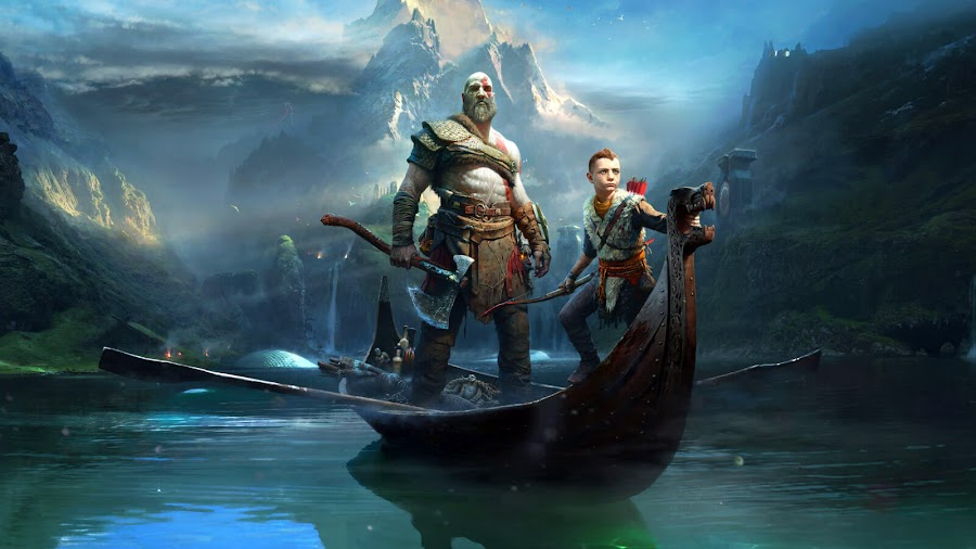 kratos and atreus ps4