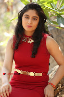 Telugu Actress Zahida Sam Latest Pos in Red Gown at RF Films New Movie Opening  0268.JPG