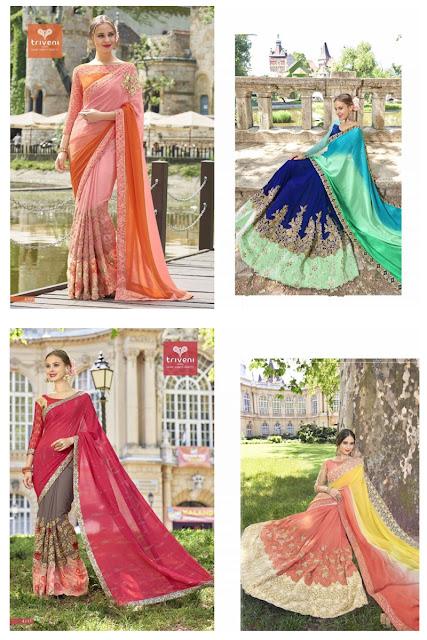 zankar by triveni sarees catalog image