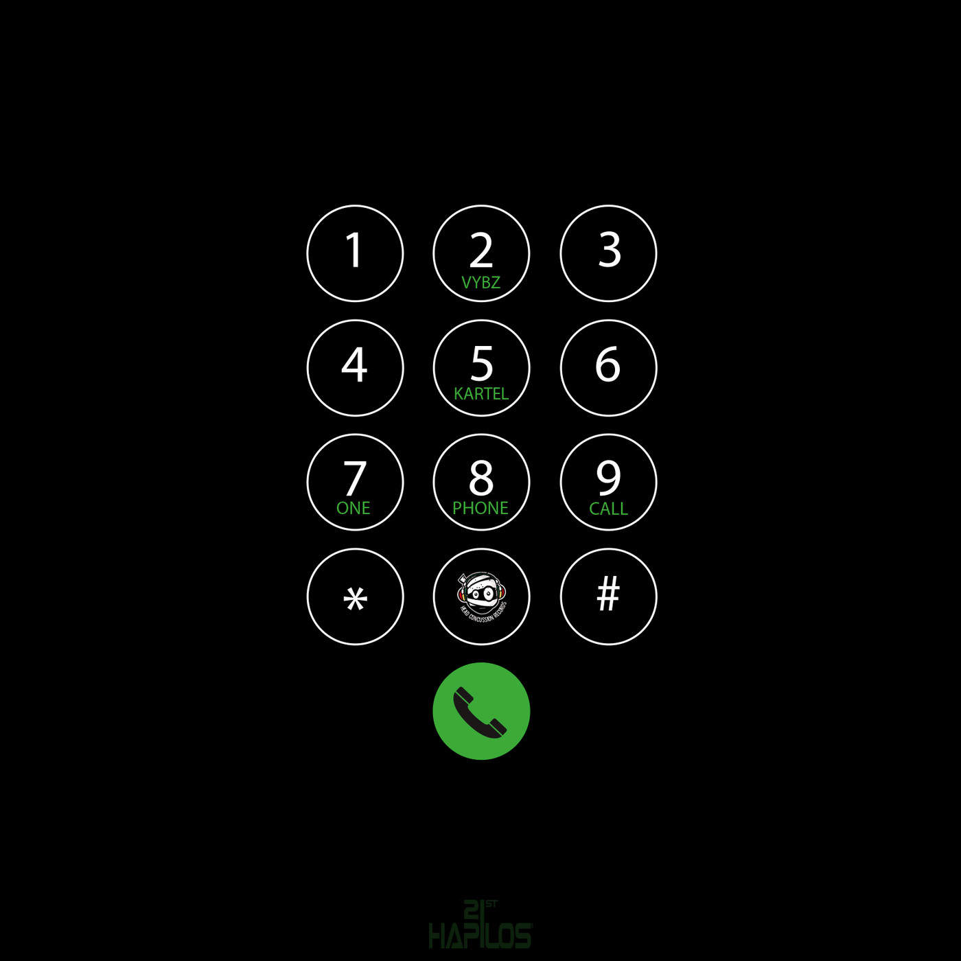 Vybz Kartel - One Phone Call - Single Cover