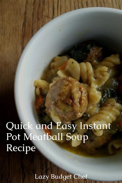 easy meatless meatball soup recipe