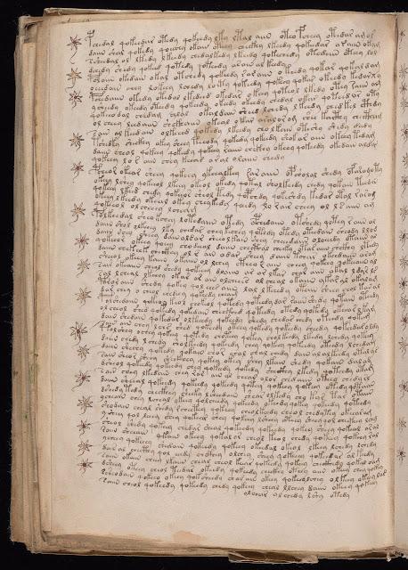 Voynich Elyazması - Okunamayan Yazılar