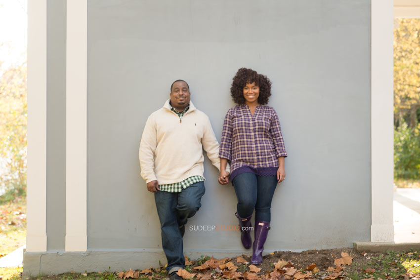 Ann Arbor Fall Engagement Photography Session - Sudeep Studio.com Ann Arbor Photographer