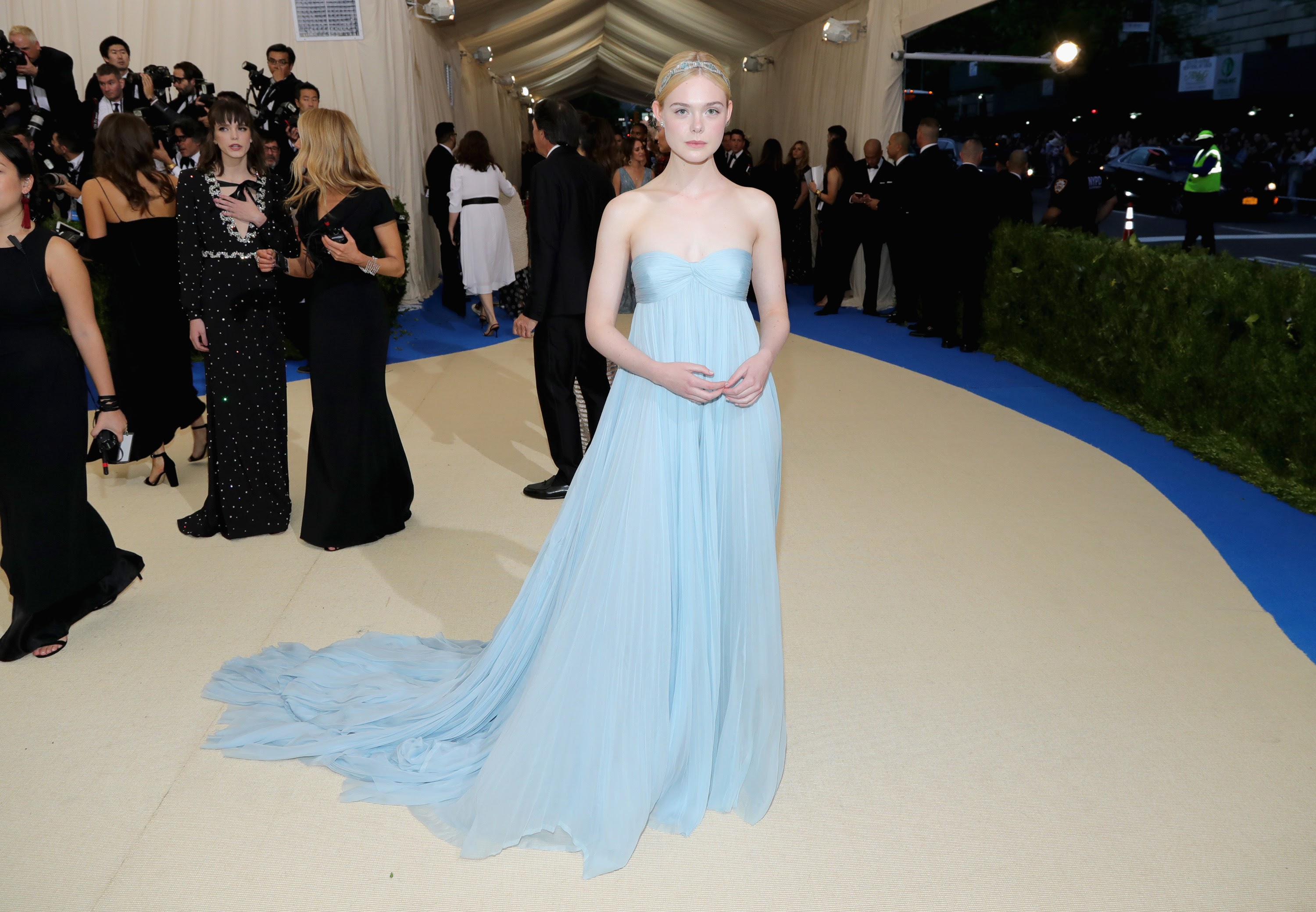 Elle Fanning at Met Gala 2017