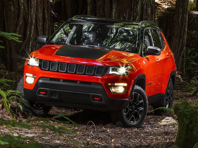 Novo Jeep Compass 2017 Trailhawk Diesel