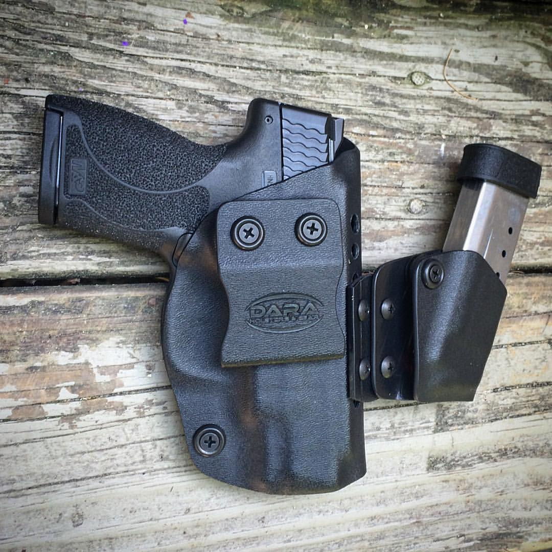 Dara Holsters: Modular Appendix Holster Rig for S&W Shield  45