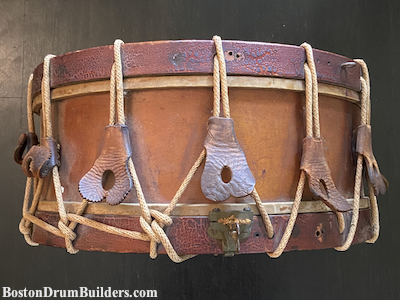 1873 Hall and Quinby Snare Drum