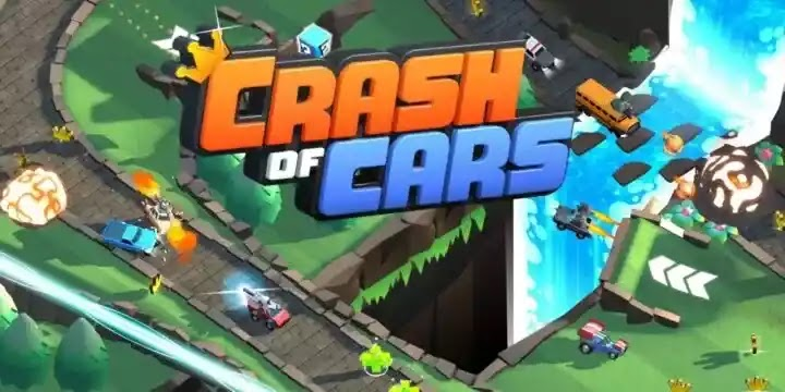 تحطم سيارات Crash of Cars هي لعبة معركة سيارات متعددة اللاعبين لنظامي iOS و Android
