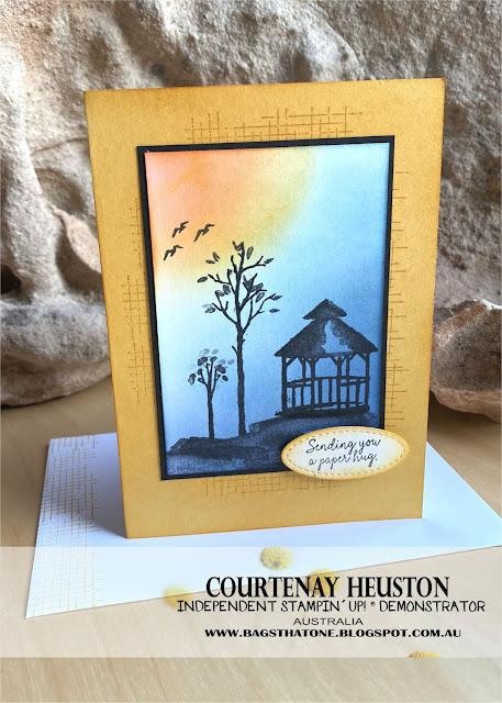 My Meadow Paper hug card Front
