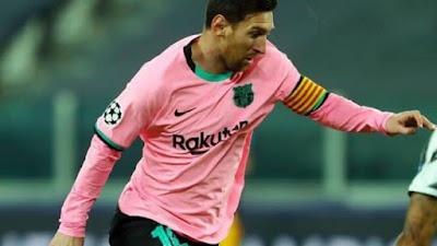 Liga Champions: Barcelona 2-0 Juventus, Messi Cetak Gol