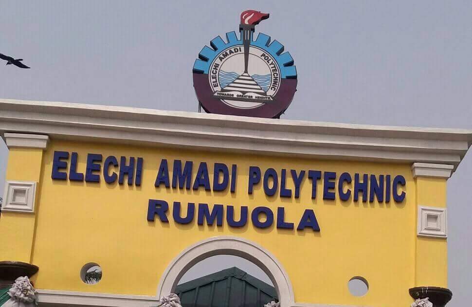 2020/2021: Elechi Amadi Polytechnic Diploma Admission Form Now On Sale