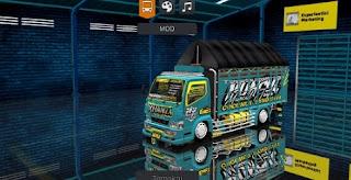 Truck Canter Fuso Terpal Segitiga