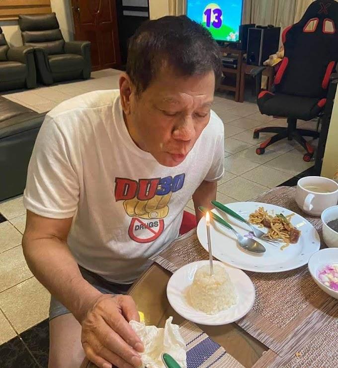 Duterte celebrates his 76th birthday