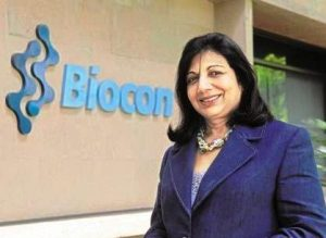 Spotlight : Kiran Mazumdar Shaw,Kapoor Named Most Respected Entrepreneurs