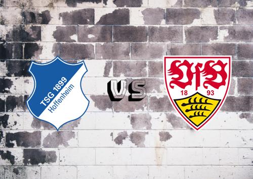 Hoffenheim vs Stuttgart  Resumen