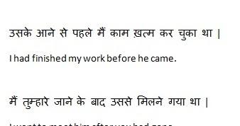Passive voice rule in hindi
