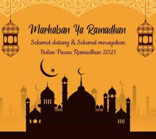 kata ucapan selamat bulan ramadhan 2021