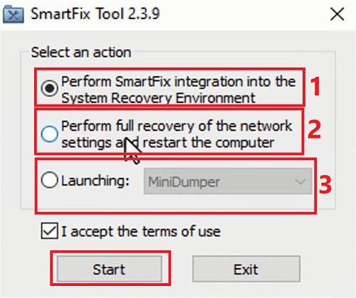 برنامج Smartfix حل جميع مشاكل ويندوز 10