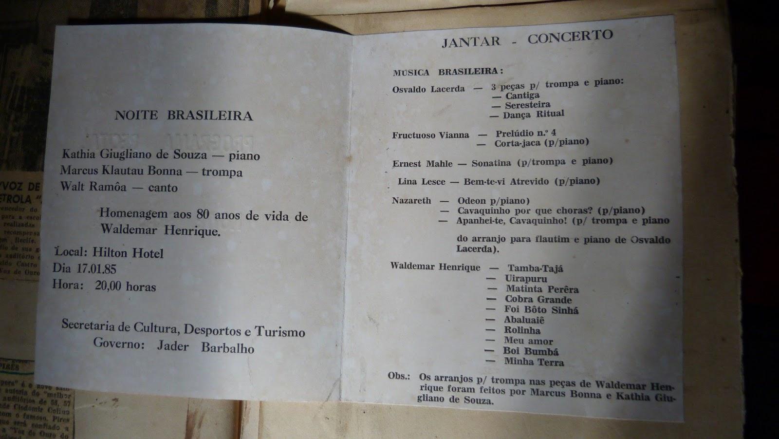 Blog do hektor 2016 wr foi no hilton hotel em belm em 1985 por ocasio dos 80 anos do maestro cantei dez msicas uirapuru tamba taj boi bumb fandeluxe Gallery
