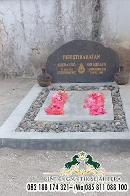 Makam Dompalan Murah, Kerajinan Nisan Batu Kali