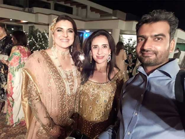 Kashmala Tariq on her wedding