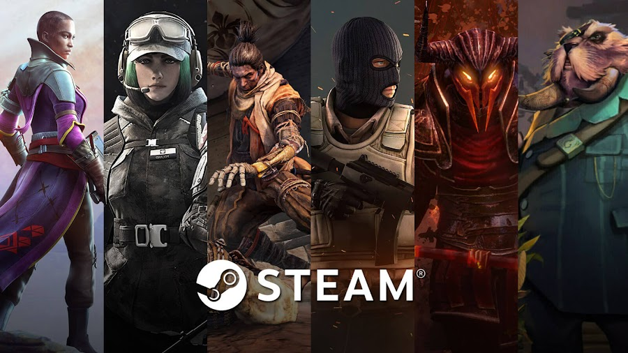 most played games 2019 steam destiny 2 rainbow six siege sekiro shadows die twice counter strike global offensive path of exile dota underlords