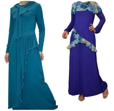 Model Abaya casual yang trendy
