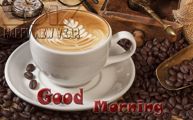 New Year 2017 Good morning Wishes Photo Greetings