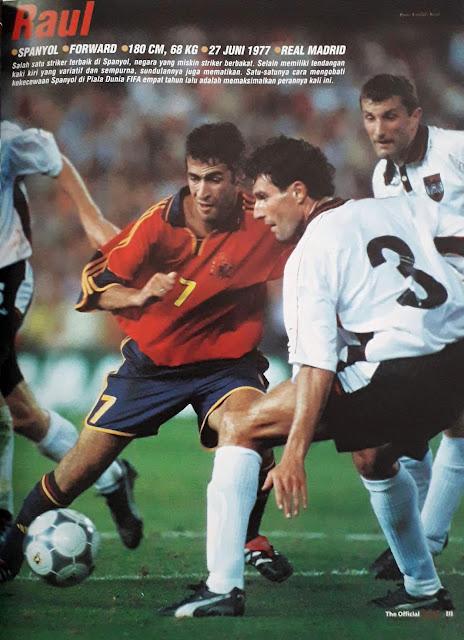 RAUL GONZALES OF SPAIN
