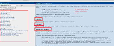 Testlink different types of reports