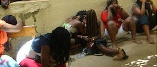 COVID19: S*x workers and their clients arrested in Ondo for flouting state government's lockdown order.