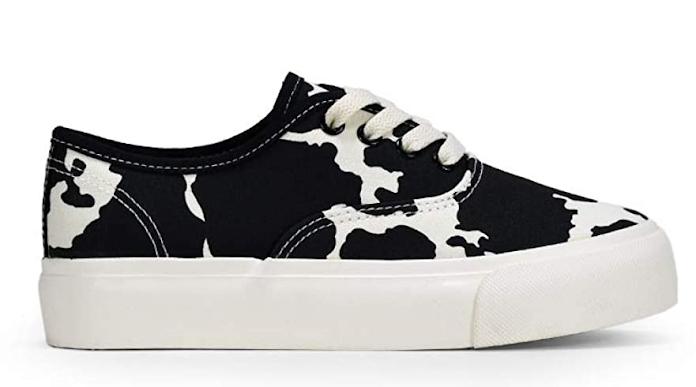 zapatillas - tela - estampado - vaca - vacaslecheras.net