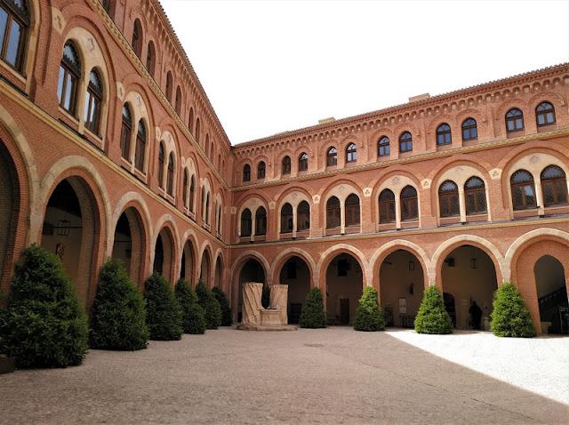 Castillo de Belmonte, recinto interior