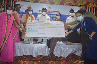 आजीविका मिशन के महिला समूहों को 09 करोड़ रुपये का ऋण वितरण