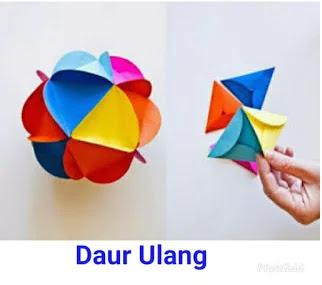 Mainan Anak TK dari Kertas Lipat