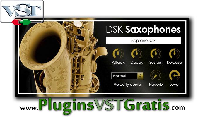 DSK Saxophones - Plugin VSTi de Saxofone Grátis [Plugins de Instrumentos]