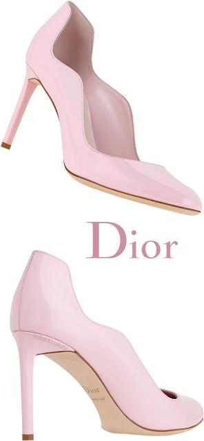 Pink Dior Wave Pumps #brilliantluxury