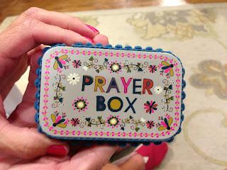 DIY Altoid Tin Prayer Box