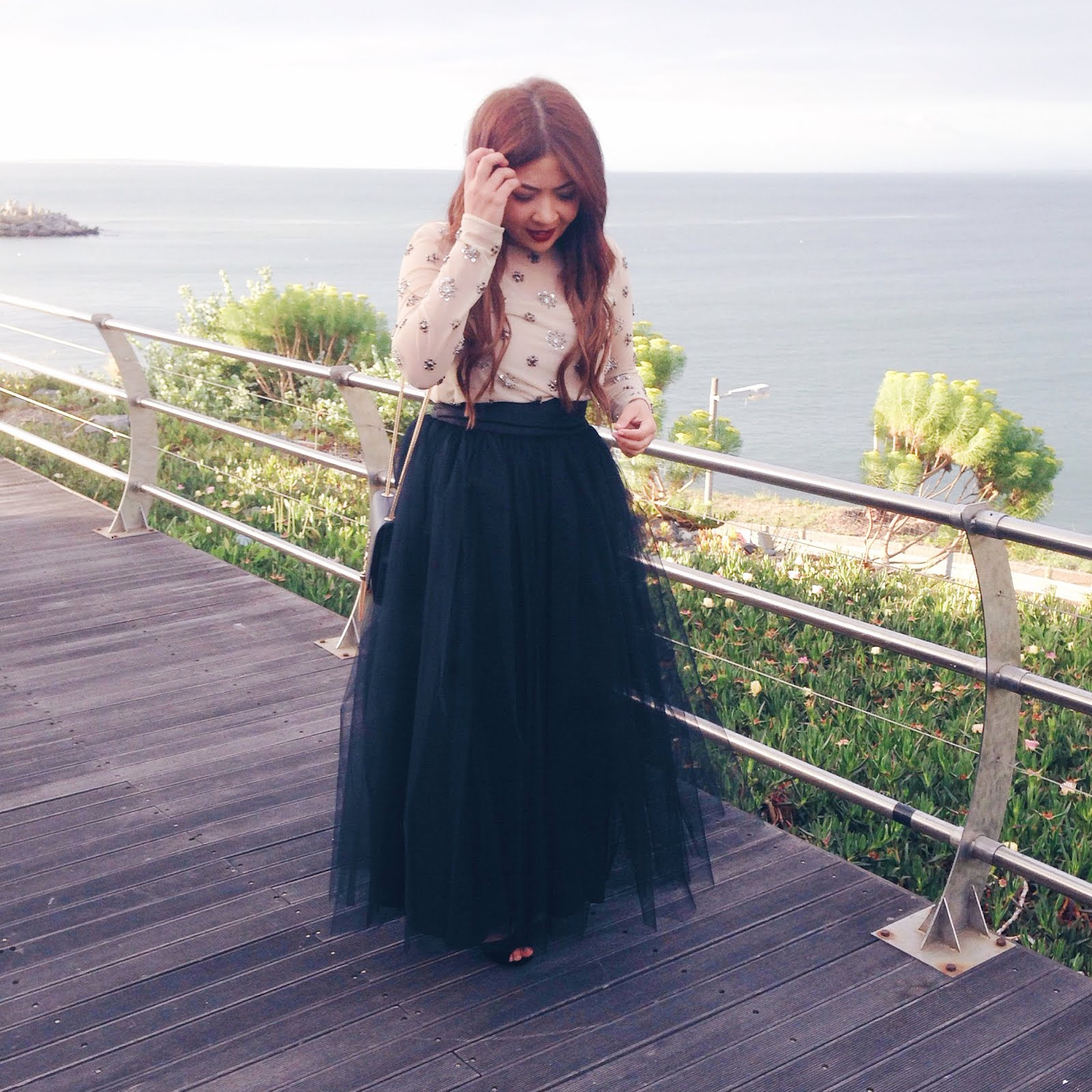 tulle skirt ootd, tulle maxi skirt, black tulle skirt, tulle skirt wedding, ootd wedding muslim, modest fashion blog