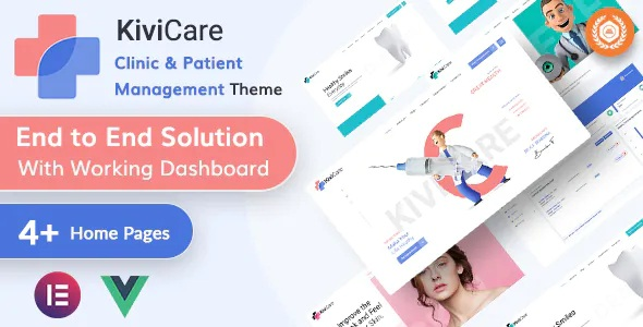Best Medical Clinic & Patient Management WordPress Theme